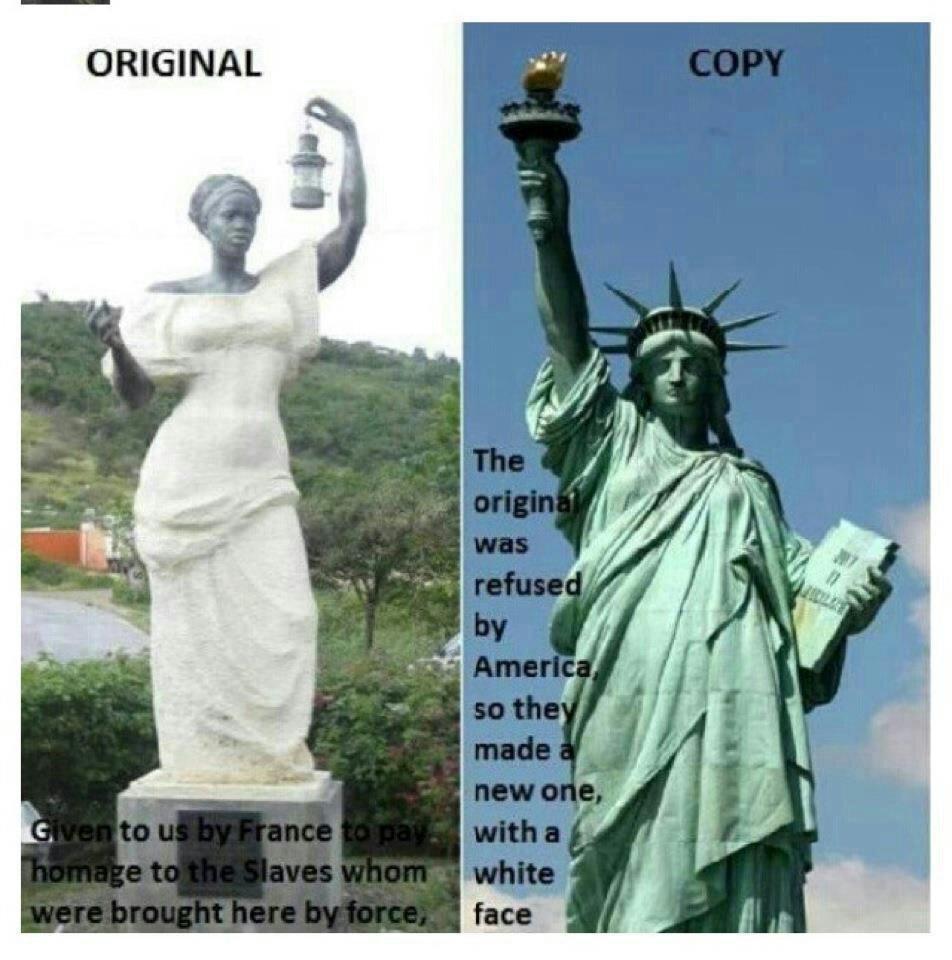 The Original Statue of Liberty a Black Woman (3/3)