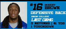 Daytona Beach Own Robert Brown Expected to be Impact Player in Next Game (3/3)