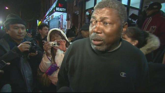 'I can't breathe!' Protesters chant Garner's chokehold plea