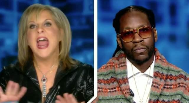 Nancy Grace & 2 Chainz Great Debate On Marijuana Legalization! (Video)