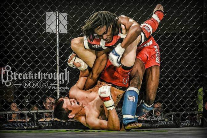 Austin McCray – Post Fight Interview – Breakthrough MMA