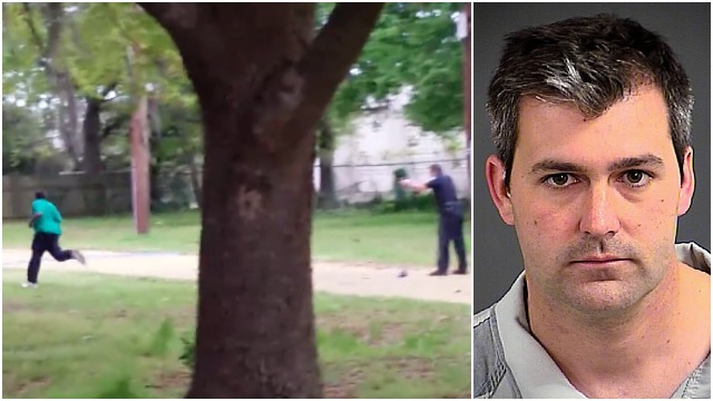 White police officer charged with murder for fatally shooting black man in the back