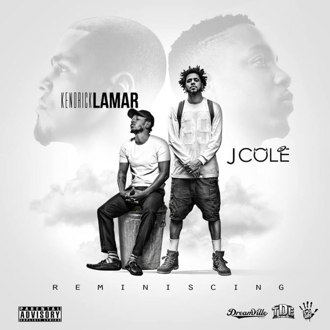 "J.Cole and Kendrick Lamar Release Official Art Cover for their Joint Project ""Reminiscing"""