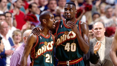 1996 NBA Finals Game 6:  Seattle SuperSonics vs. Chicago Bulls