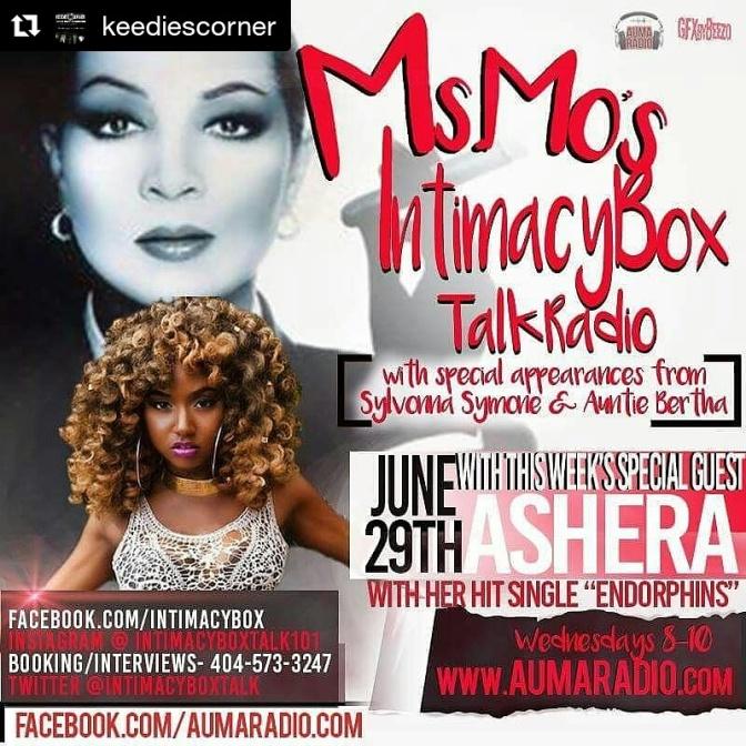 Ashera will be on Intimacy Box Talk!!