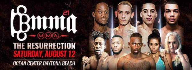 "Breakthrough MMA 21 ""The Resurrection""! August,12th"
