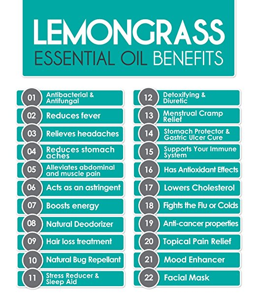 lemongrass benefits