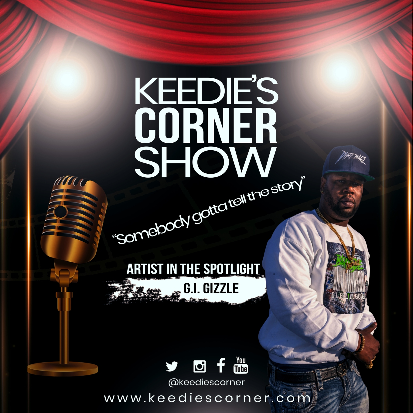Keedies-corner-flyer-Artist
